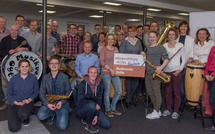 Musikverein Oythe dankt für Unterstützung