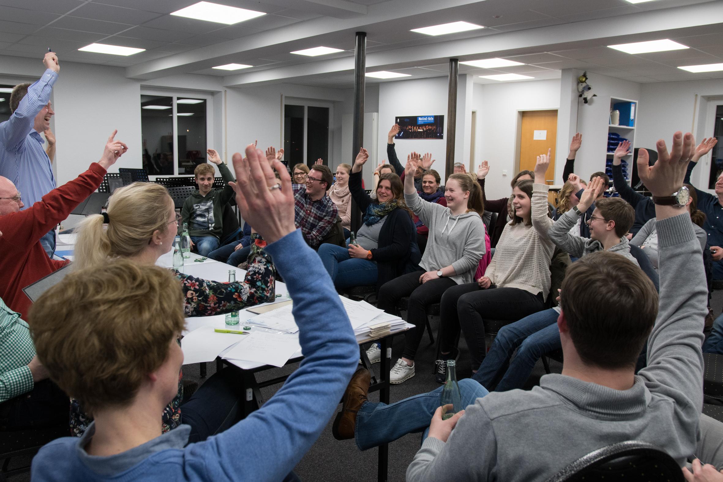 Generalversammlung wählt neuen Vorstand | Musikverein Oythe